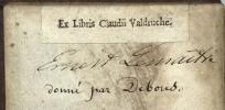 Moriae Enconium [en Grec]. Stultitiae laus. Desid.  Erasmi Rot. Declamatio. . ERASME