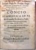Ioannis Baptistae Burgos Augustiniani Vanlentini sacrae Theologie, et Iuris Canonici Doctoris. Concio evangelica ad patres Concilii Tridentini, habita ...