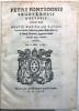 Petri Fontidonii segoviensis doctoris theologi. Oratio habita ad patres in sacro Concilio Tridentino, nomine illustrissimi viri D. Claudii Fernandez ...