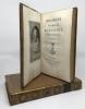 Oraisons Funèbres choisies... A Paris, Chez Ant. Aug. Renouard, An X-1802 (de l'imprimerie de Crapelet).. [ORAISONS FUNÈBRES.] BOSSUET, BOURDALOUE, ...