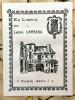 Recueil de 15 communications de Lucien Lambeau concernant l'histoire de Paris, réunies par lui en volume. Extraits ou coupures rapportées, tirées des ...