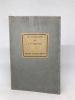 Le Catalogue de l'Antiquaire. Description de quelques objets anciens et de quelques amateurs. Paris, Les Editions Jean Budry, 1923. . ALBERT-BIROT ...