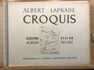 Croquis. Deuxième album. région de l'Est. Paris, Vincent, Fréal, 1942.. LAPRADE Albert.