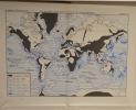 La paléogéographie. Essai sur l'évolution des continents et des océans. Avec 136 figures et 16 cartes hors texte.. FURON (Raymond).