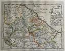 Sabini et Eorum Proles. Theatrum geographique Europae veteris. Italie ancienne, carte de l'Ombrie et des Abruzzes. . Briet (Philippe)