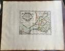 GALLIA NARBONENSIS. Theatrum geographique Europae veteris. Carte de la Gaule transalpine. . Briet (Philippe)