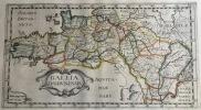 GALLIA LUGDUNENSIS. Theatrum geographique Europae veteris. Carte de la Gaule lyonnaise. . Briet (Philippe)