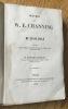 Oeuvres de W. E. Channing. De l'esclavage.. Channing (W. E.)