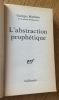 L'abstraction prophétique. Mathieu