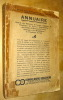Annuaire Général des Médecins de Langue Française de l'Amérique du Nord et Dépendances, des Antilles, du Mexique, du Centre-Amérique et des ...