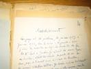 Épreuves d'imprimerie avec corrections et additions autographes, Jérôme Cardan, Ma Vie, Pages magistrales.... Lely (Gilbert)