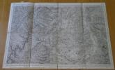 Carte géographique de Gannat et sa région, 1850. Collectif