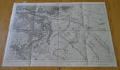 Carte géographique de Châlons-sur-Marne et ses environs, 1834. Collectif