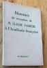 Discours de réception de M. Claude Farrère à l'Académie française. Farrère (Claude)