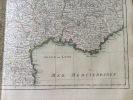 La France divisée par gouvernements militaires. Zannoni (Rizzi)