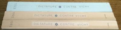 Dossier de presse sur les polémiques des années 1990 relatives au rôle du régime de Vichy. Collaboration, judaïsme, antisémitisme.. Collectif / ...