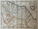 Théâtre géographique de l'Europe. L'Ombrie, le Pérusin, le Duché d'Urbin, la Marche d'Ancône. . Briet (Philippe)