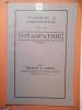 Un cours de correspondance sur la vitaopathie.. ADKIN Thomas F.,