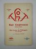 Thot: de Virgo - 583 - à Jésus - 263 -. Sept Conférences d'Ordre Divin et une Leçon de Pythagore. Paris 1929-1930.. PAVIOT [Auguste] (Professeur),