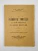 La philosophie d'Avicenne et son influence en Europe médiévale. Forlong lectures 1940.. GOICHON Anne-Marie,