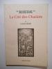 """""""Rhedae"""". La Cité des Chariots.. FEDIE Louis,"""
