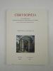 Chrysopoeia. Tome II, fasc. 2. Avril / Juin 1988.. SOCIETE D'ETUDE DE L'HISTOIRE DE L'ALCHIMIE / REVUE (Sous la direction de Sylvain MATTON),
