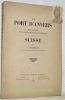 Le Port d'Anvers. Son avenir, son importance économique pour la Suisse.. Bierkens, V.