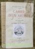 Cahiers d'un artiste, quatrième série. Paris, novembre 1915 - aout 1916.. BLANCHE, Jacques-Emile.