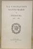 LA VISITATION SAINTE-MARIE DE FRIBOURG. 1635-1935..