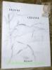 Dessins de Cézanne. Pages de C.-F.Ramuz.. CHAPPUIS, Adrien.