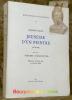 JEUNESSE D'UN PEINTRE (1878-1902) suivi de ses «HEURES VALAISANNES». Mémoires présenté par S. Corinna Bille. Bibliotheca vallesiana.. BILLE, Edmond.
