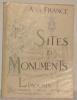 Limousin. Corèze - Creuse - Haute Vienne. Sites et Monuments. .