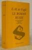 Le roman russe. Suivi d'une étude sur Maxime Gorki. Préface de P. Pascal. Collection Slavica.. VOGUE, Vte de E.- M.