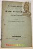 Mantissa botanica sistens generum plantarum. Supplementum secundum.. ENDLICHER, Stephano.