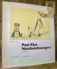 Paul Klee Handzeichnungen. Band 1: Kindheit bis 1920.. GLAESEMER, Jürgen.