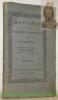 MEMOIRES de la Société Economique de Fribourg. Premier cahier de 1813 à 1816..
