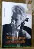 Musique pour un violoncelle. Paul Burger.. DREYER, Simone.
