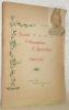 Notice commémorative du 75e anniversaire de la fondation de la Société fribourgeoise d'agriculture. 1848-1923.. VEVEY, E. de.