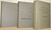 Un siècle de télécommunications en Suisse 1852-1952. 3 volumes.Tome 1: Télégraphie.Tome 2: Téléphone - Sources de courant et instalations d'énergie - ...