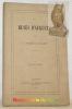 Les Muses d'Auguste. Deuxième édition.. CASTANET, Ferdinand.