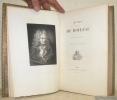 Oeuvres poétiques. Avec des notices par M. Foulquier. Eaux-fortes par V. Foulquier.. BOILEAU.