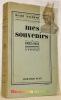 Mes souvenirs 1892 - 1914. Tome 1.  Trente années de vie politique en Europe. Traduction de M. D'Honfroy.. WICKHAM STEED, Henry.