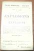Explosions et explosifs. Collection Pages d'Histoire 1914 - 1916.. VARIGNY, Henry de.