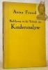 Einführung in die Technik der Kinderanalyse. 2. vermehrte Auflage.. FREUD, Anna.