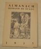 ALMANACH ROMAND DE ST-LUC 1937..