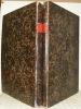 Traité théorique et pratique de l'art de batir. Treizième édition. Volume planches et volume supplément planches.. RONDELET, Jean.