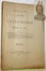 Anales de la Universidad. Tomos CVIII.-CIX-Ano 59. Republica De Chile. Julio de 1901..
