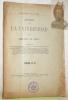 Anales de la Universidad. Tomos CVIII.-CX-Ano 59. Republica De Chile. Noviembre de 1901..