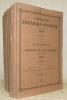 SCHWEIZERISCHE EISENBAHN-STATISTIK. II. bis XXII.(Fehlt Band. X).Statistique des Chemins de Fer Suisses. Volume II au volume XXII (manque le volume ...