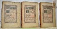 """Histoire de Pie IX le Grand et de son Pontificat. En trois tomes.Troisième édition. Coll. """"Bibliothèque des Familles. Histoire."""". SYLVAIN, Charles."""